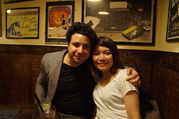 Luca Lampariello and Saeko