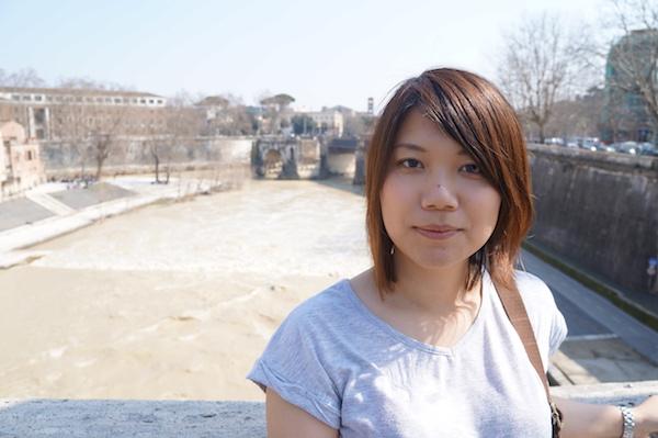 Saeko in Rome