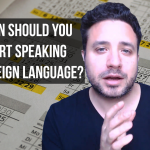 When Should You Start Speaking a Foreign Language?